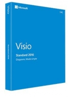 Visio Std 2016 32-bit/x64 Russian Central/Eastern Euro Only EM DVD